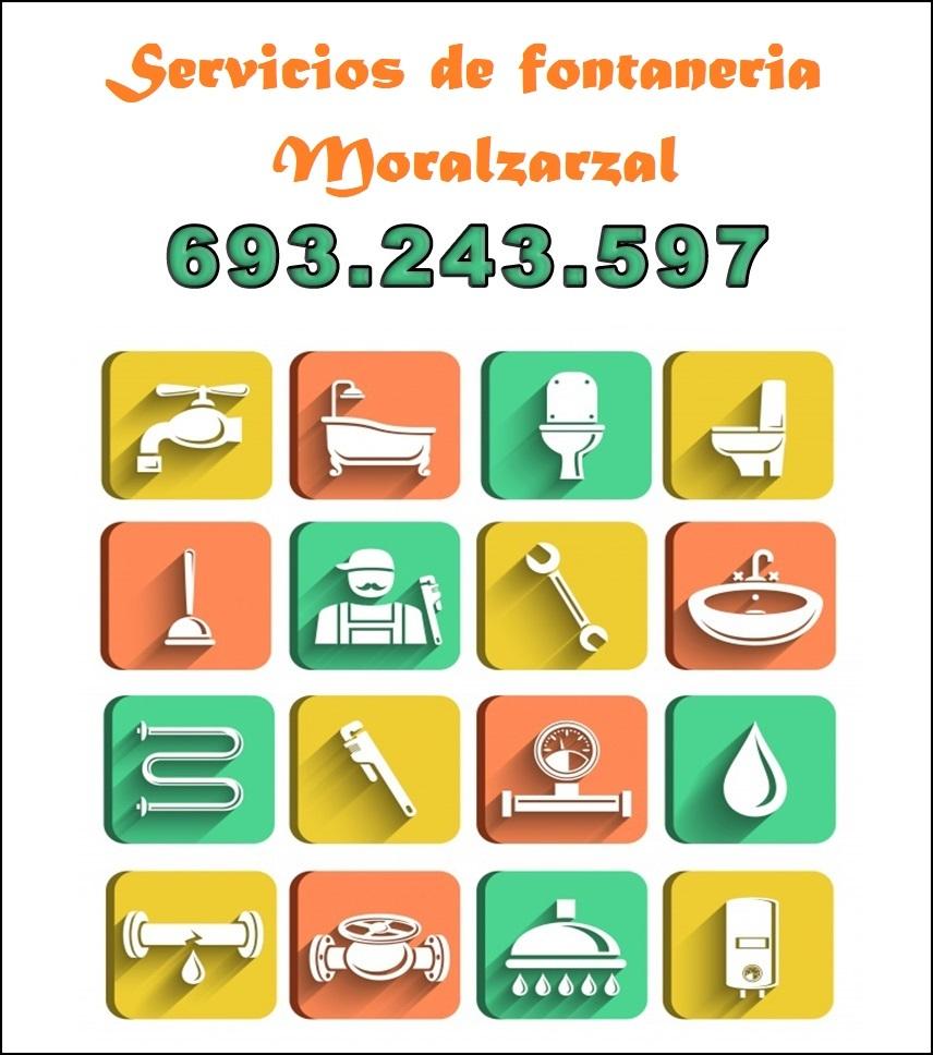 servicios de fontaneria en moralzarzal