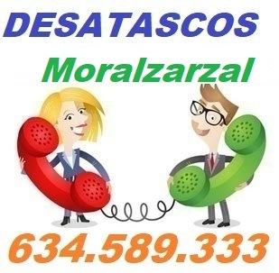 Telefono de la empresa desatascos Moralzarzal